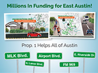 East Austin Prop 1 Traffic mailer