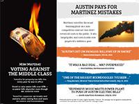 Adler for Austin mailer