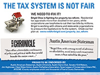Brigid Shea Taxes mailer