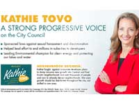Kathy Tovo push card